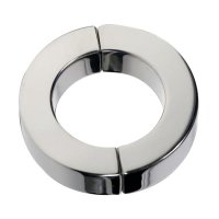 Black Label Magnetic Hinged Cock Ring Polished