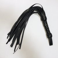 Leather Flogger Short and Thick