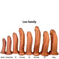 SquarePeg Toys Leo Harness Bronze 1X Long
