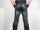 R&Co Premium Leather Jeans Normal Style Slim Leg