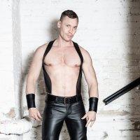 R&Co Bartender Waistcoat Black