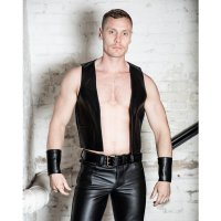 R&Co Classic Waistcoat Black